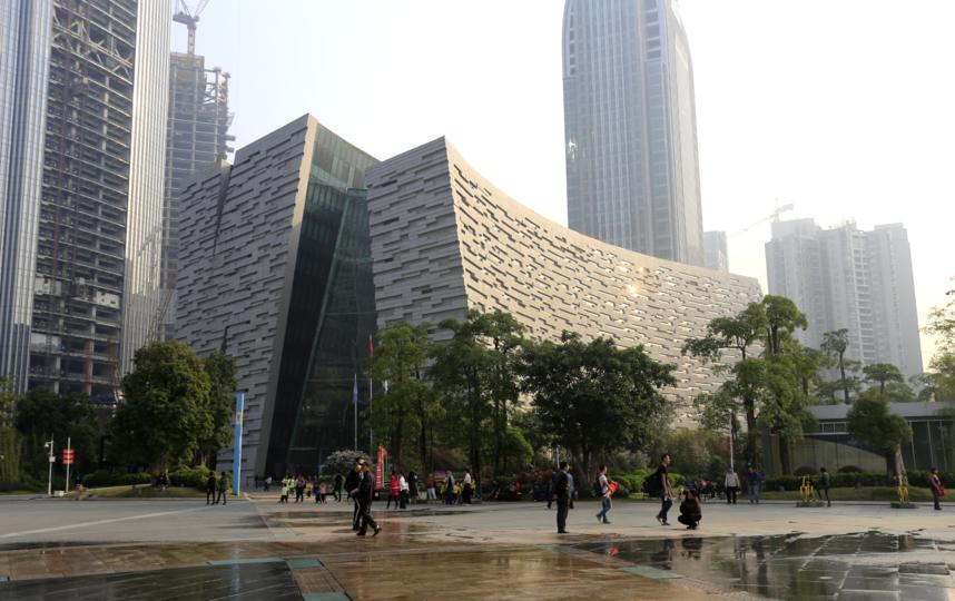 Библиотека Гуанчжоу.