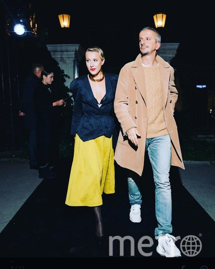 Ксения Собчак и Константин Богомолов, архивное фото. Фото Instagram: @konbog75