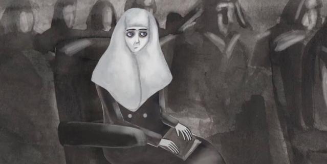 """Кадр из мультфильма """"Русалочка и переводчица""""."""