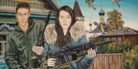 Русский мир запечатлели на картинах