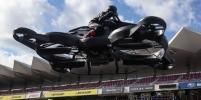 Летающий мотоцикл из Японии: он взлетит в небо уже в следующем году