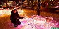 Москва заиграла праздничными огнями в честь наступающего Нового года