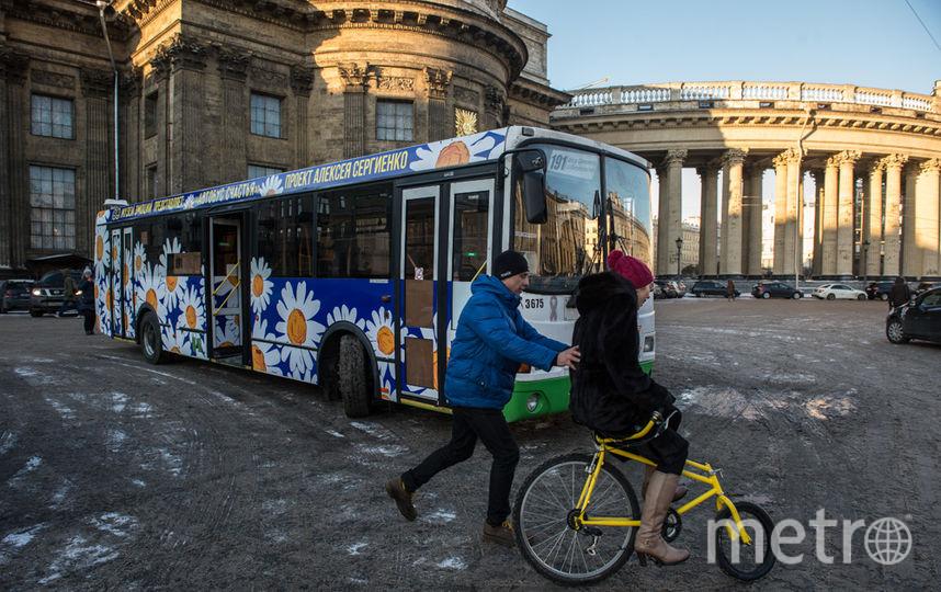 Санкт петербург ромашки автобус