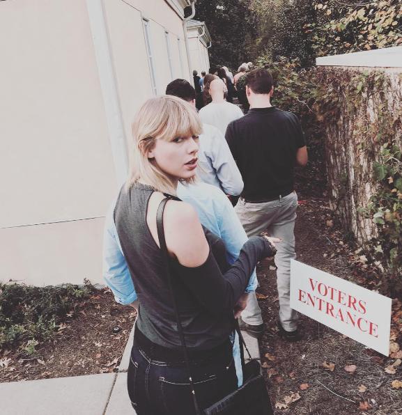 Instagram Тейлор Свифт.