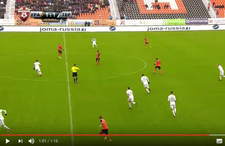 "скриншот с канала ""Наш Футбол"" на YouTubeскриншот с канала ""Наш Футбол"" на YouTube."