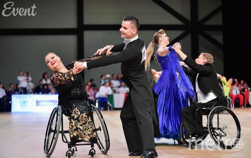 Фото предоставлено Федерацией спортивных танцев на колясках.
