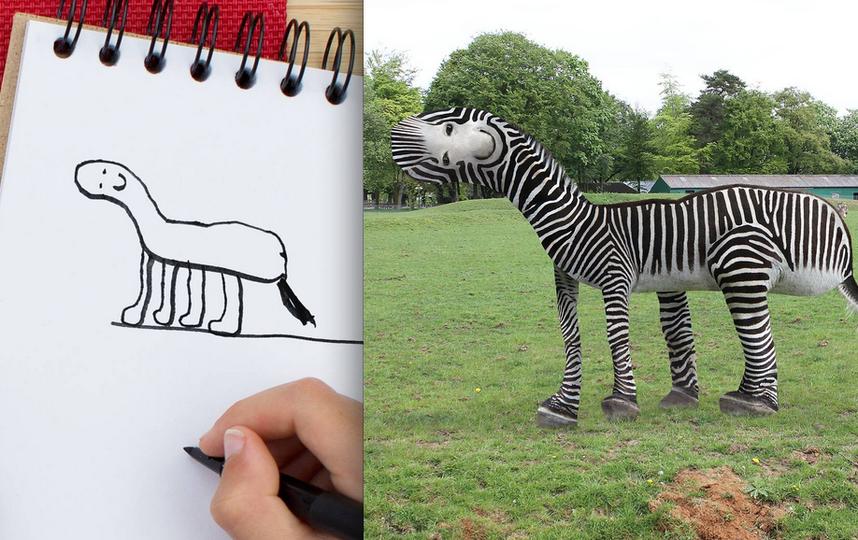 Как нарисовать оживляющий рисунок
