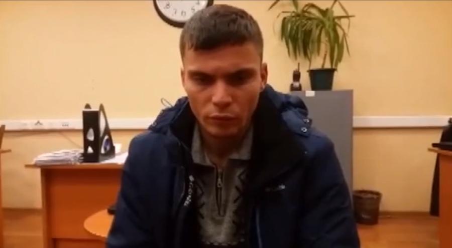 Скриншот видео Московского метрополитена.