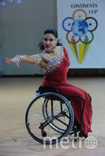 предоставлено федерацией танцев на колясках в России.