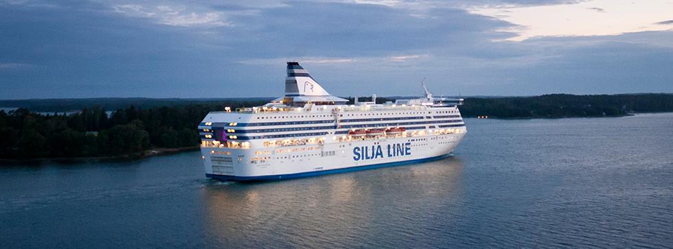 с официальной страницы Facebook компании Silja Line.