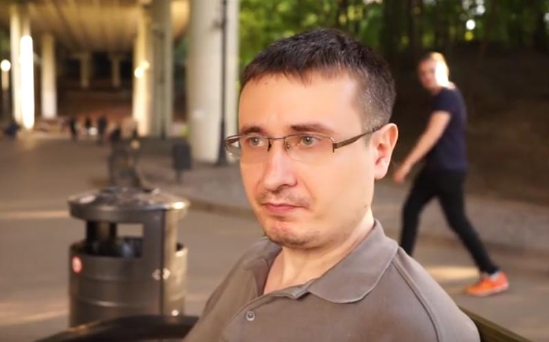 скриншот с видео Радио Свобода.