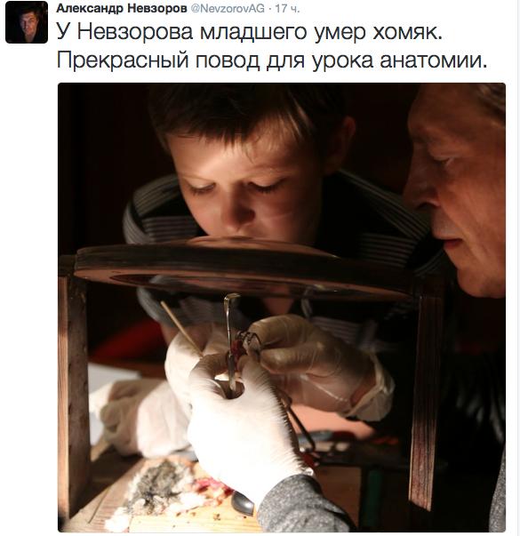 twitter Александра Невзорова.