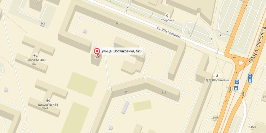 скриншот Яндекс-Карты.