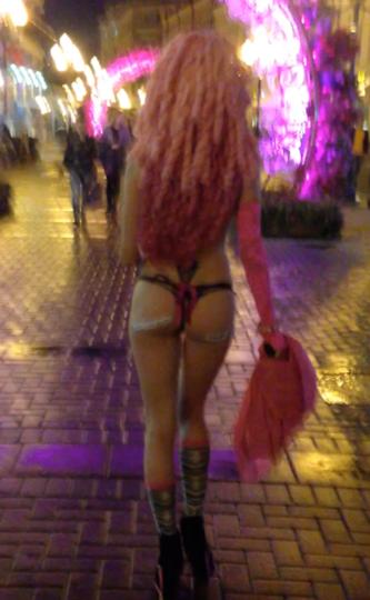 Скриншот с видео, предоставленного Кариной.