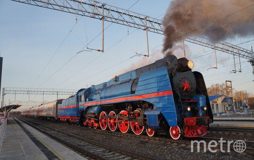 предоставлено организаторами выставки паровозов.