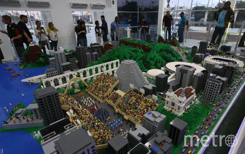 ВСЕ –Ренато Сетте / Пресс-центр Олимпиады в Рио.