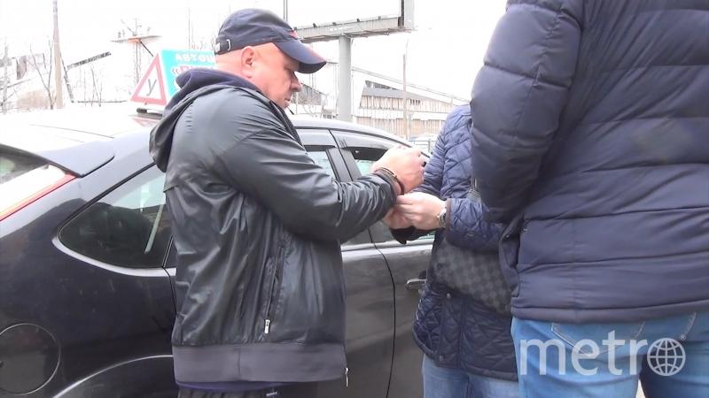 предоставлено пресс-службой ГУВД Петербурга.