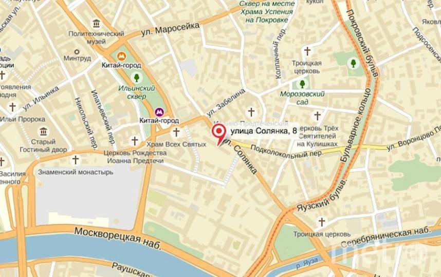 Yandex maps.