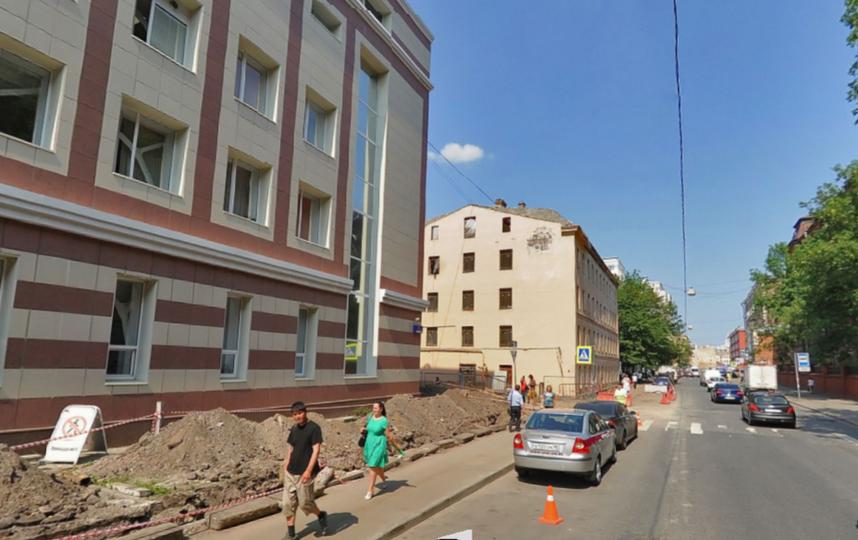 "все – скриншот ""Яндекс. Панорам"" ."