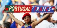 Матч Португалия-Франция: Французские фанаты впали в отчаяние из-за поражения сборной