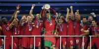 Криштиану Роналду не скрывал слёз счастья после победы португальцев на футбольном Евро