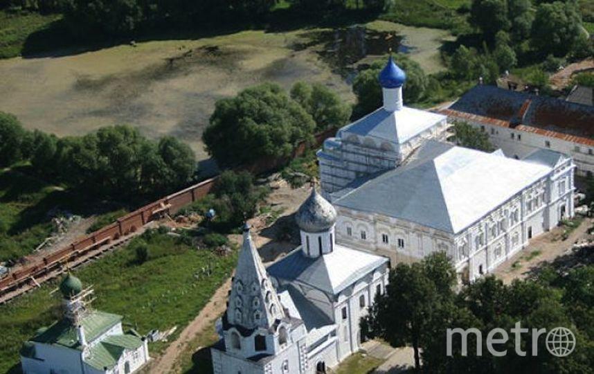 скриншот с официального сайта монастыря.