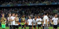 Лучшие фото матча, в котором Франция победила Германию