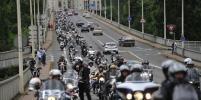 Тысячи байкеров устроили парад во Франции
