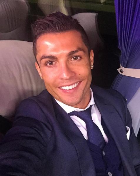 Instagram Роналду.