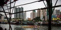 В Гонконге прошли соревнования драконьих лодок