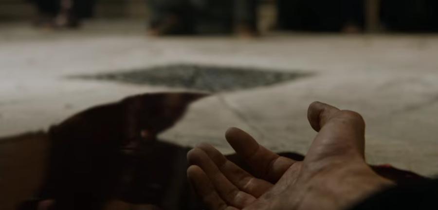 """Скриншот трейлереа """"Игры престолов""""."""