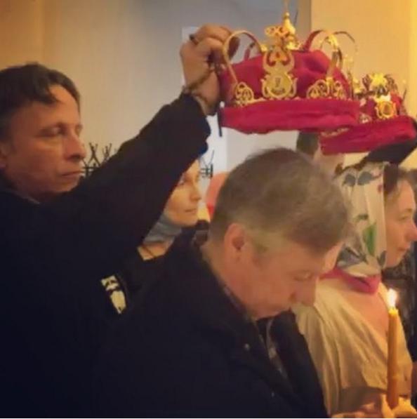 Скриншот видео Ивана Охлобыстина.
