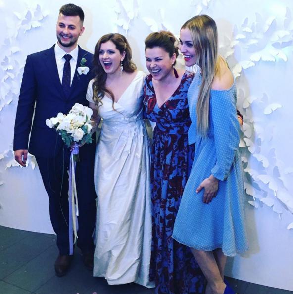 Анастасия денисова вышла замуж фото