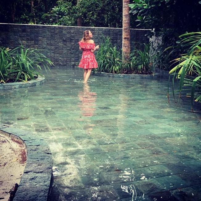 скриншот Instagram Ксении Собчак.