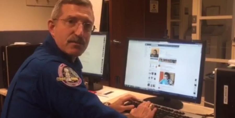 Скриншот видеообращения .