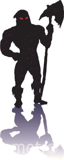 medieval executioner cartoons - 413×1024