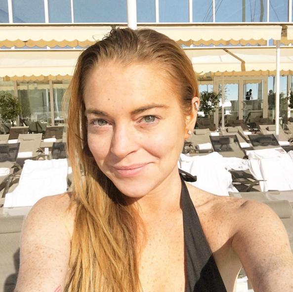 Все фото: страница Линдси Лохан в Instagram .