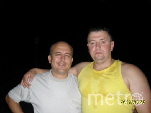Дмитрий и его друг Борис.