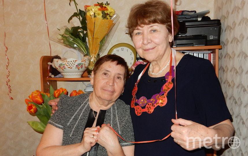 Ольга и её подруга Маргоша.