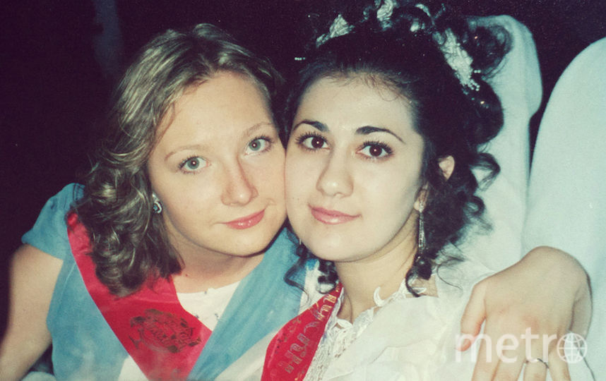 Яна и её подруга Диана.