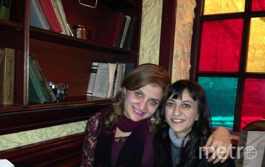 Анаит и её подруга Гайане.