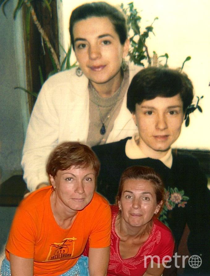 Наталья и её подруга Оля.
