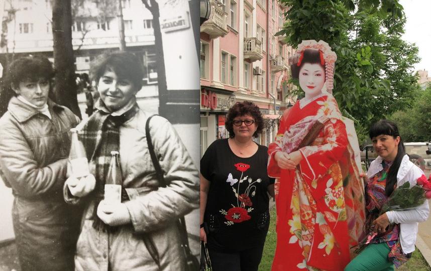 Галина Кутуева и её подруга Людмила.