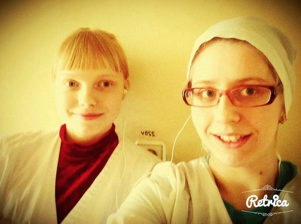 Наталья и её подруга Лиза.