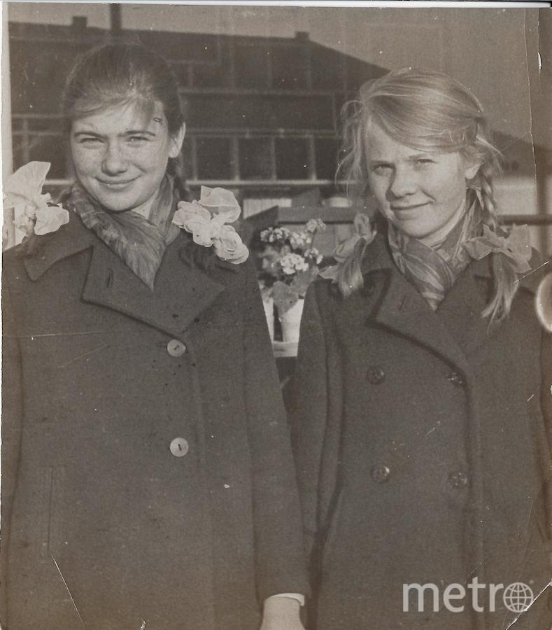 Екатерина Сторожева и её подруга Валя.