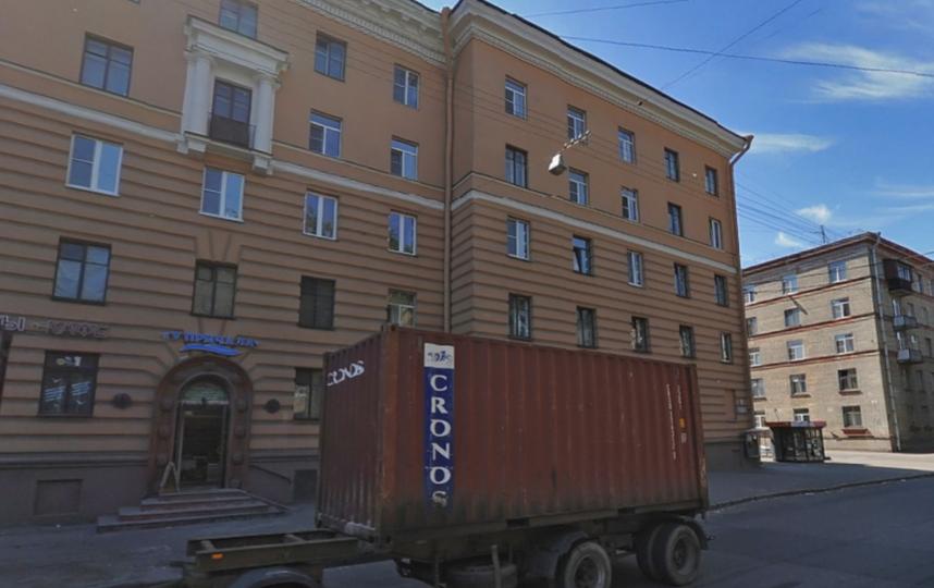 """Скриншот Яндекс. Панорам""."