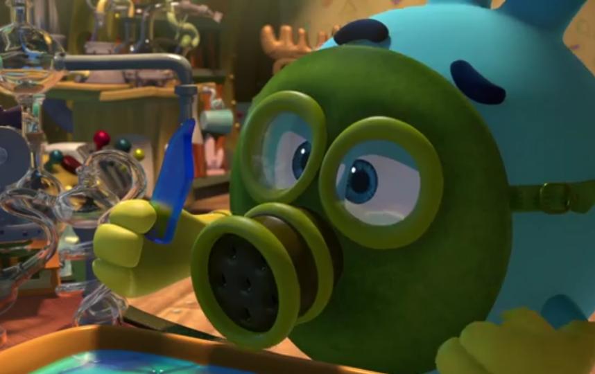 скриншот из мультфильма.