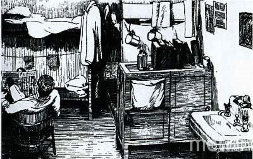Картина Рудольфа Абеля.