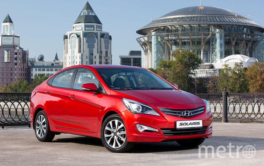 Hyundai Solaris / все фото с официальных сайтов производителей.