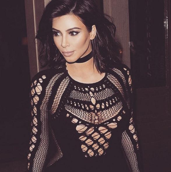Instagram Ким Кардашьян.